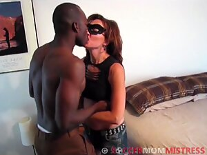 MILF Wife Meets Young African Bull