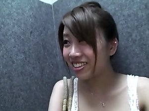 Crazy Japanese chick in Fabulous Blowjob, Couple JAV clip