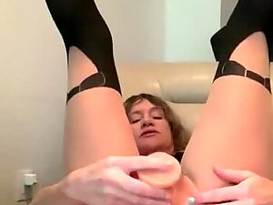 Middle Aged Amateur Cougar is a Nymphomaniac! Yep.