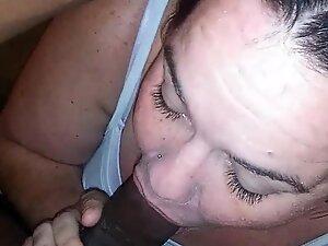 mature mom sucking young bbc sloppy