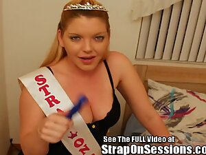 Fatty Anal Ravaging by Strap On Princess