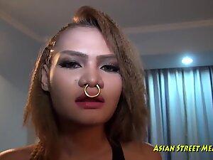 Wild City Slut In Restaurant