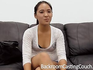 Tiny Asian Assfuck and Creampie Casting