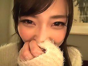 Horny Japanese chick in Crazy Teens, POV JAV scene