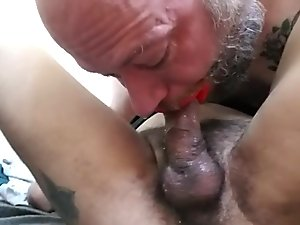Pixie cums in Satyrs throat