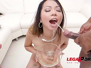 Anal and Dirty cum/piss/spit cocktail for Jureka del Mar SZ2551