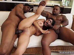 Facial fat first time My Big Black Threesome