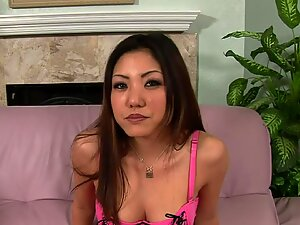 Beloved Asian loves to please her man with oral sex.