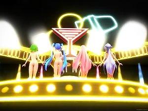 Ghost Dance! - Hatsune Miku, Luka, Gumi, Haku
