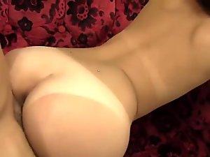 Delicate asian beauty becomes dirty fuckmeat for mature shlong