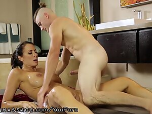 NuruMassage Stepson will Do Anything for Mommy!