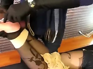 asian pantyhose encasement Bondage